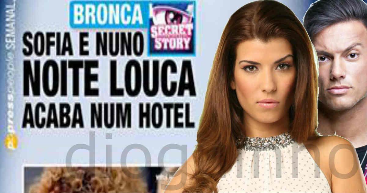 Photo of Sofia Sousa foi confrontada com a notícia de que dormiu com Nuno