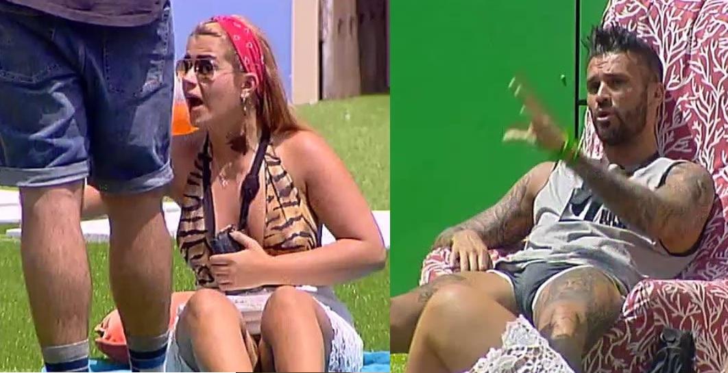 Photo of Carina e Savate acabam por ter acesa discussão