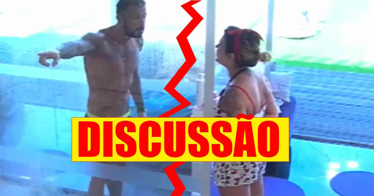 Photo of Grande discussão entre Bruno Savate e Fanny. Amizade em risco