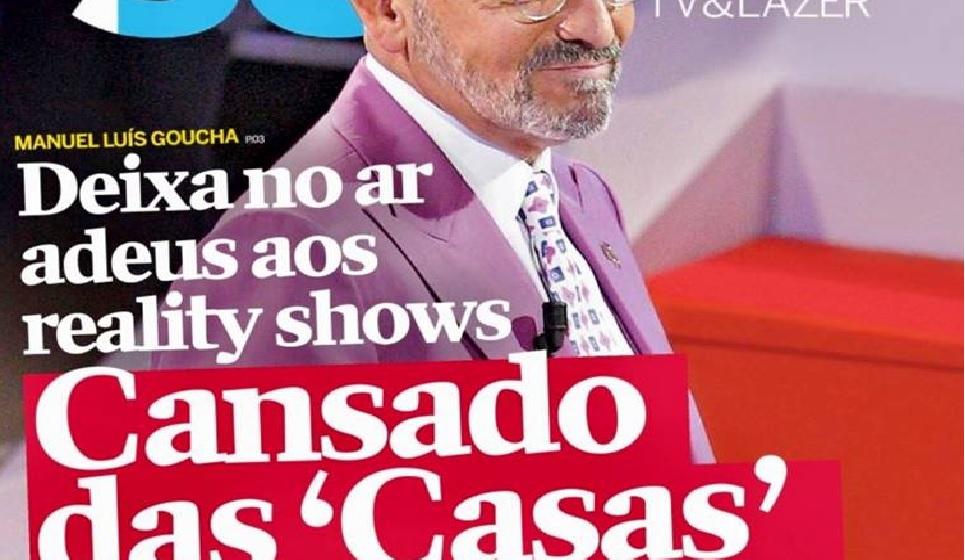 Photo of Manuel Luís Goucha não volta a apresentar a Casa dos Segredos? Já reagiu