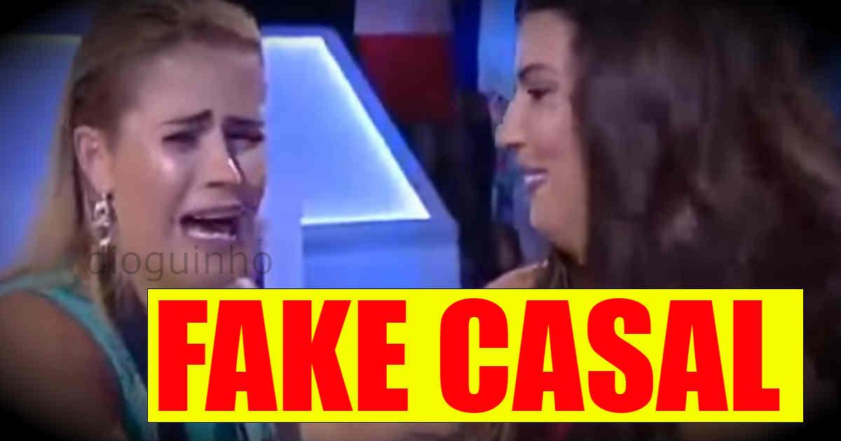 Photo of Carina queria formar FAKE CASAL com Bruno Savate