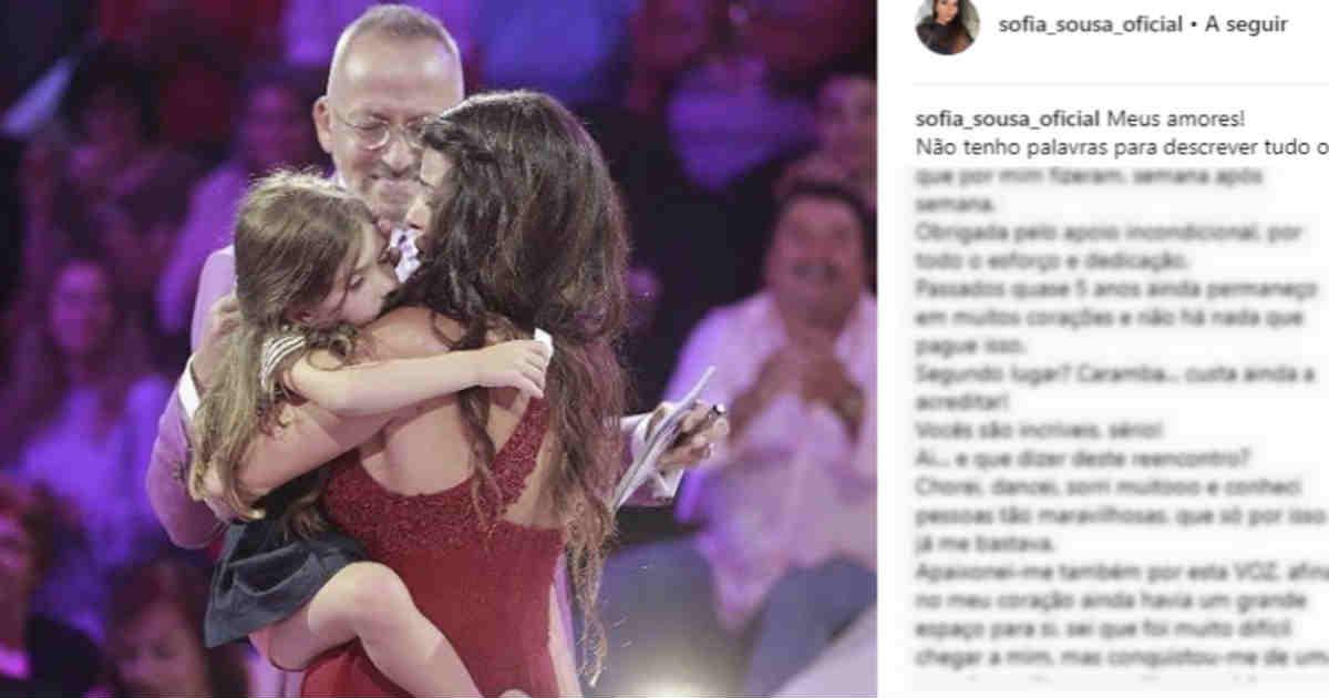 Photo of Sofia Sousa reage ao segundo lugar na Casa dos Segredos – Reencontro