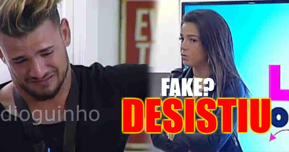 Photo of Patrícia desistiu do Love on Top 7.. cheira a fake