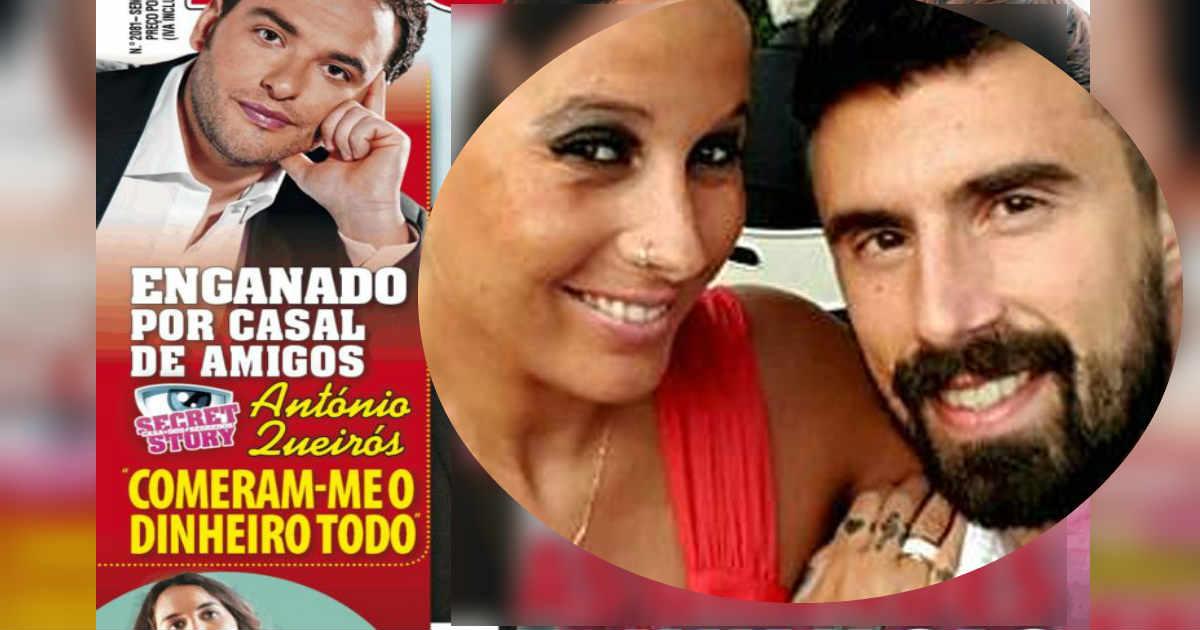 Photo of António da 'CASA' é ENGANADO por amigos «comeram-me o dinheiro todo»