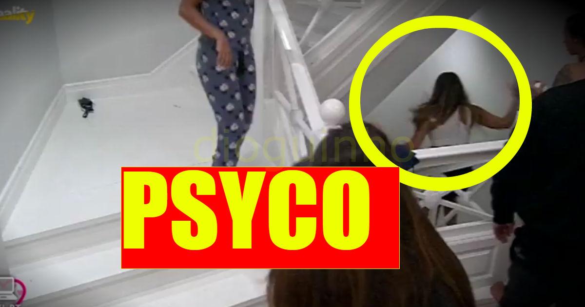 Imagens inéditas: «Ataque psicótico» de Margarida!