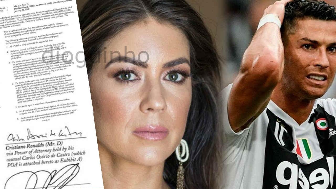 O Acordo Secreto Entre Cristiano Ronaldo E A Mulher Que O
