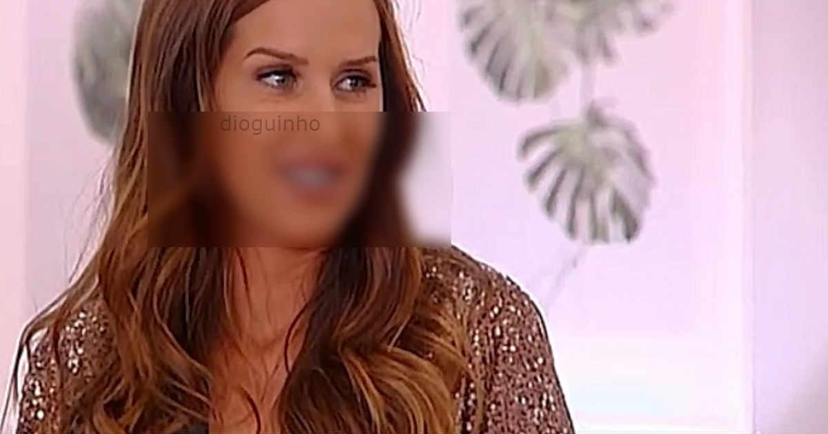 Photo of Érica Silva entra a rebentar…. e com cara muito ALTERADA