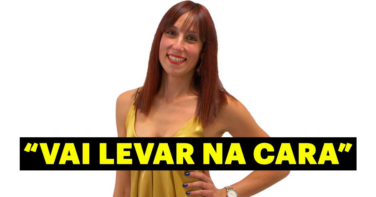 """Photo of Amélia: """"Eu resolvo as coisas à pancada"""""""