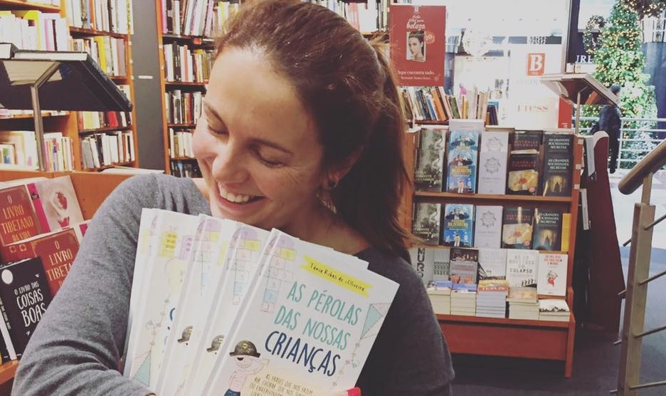 Photo of Tânia Ribas de Oliveira entala Fernando Alvim em direto