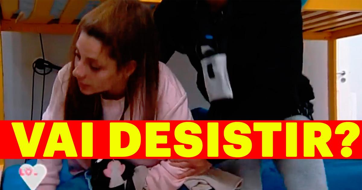 Photo of Joana chora e diz que vai desistir do 'Love On Top 9'