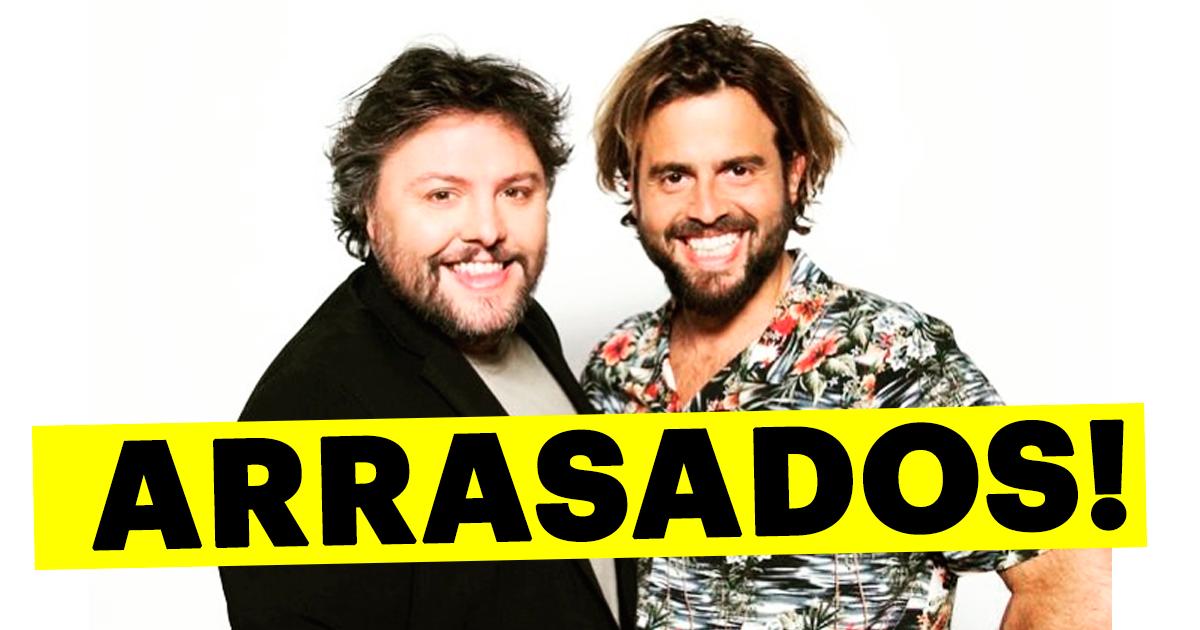 Photo of João Manzarra e César Mourão estão a ser ARRASADOS