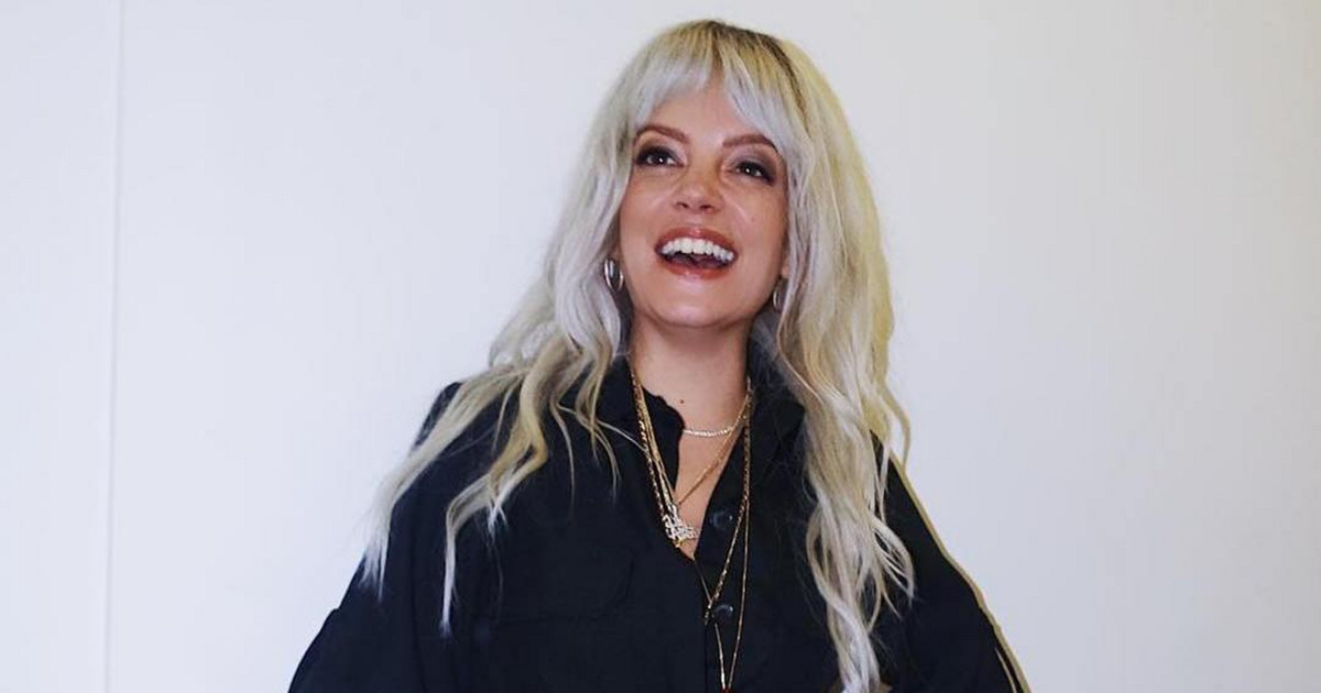 Photo of Lily Allen irreconhecível