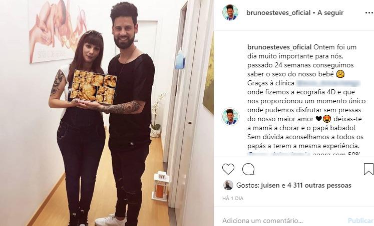 Photo of Bruno Esteves vai ser pai. Prometeu e não cumpriu