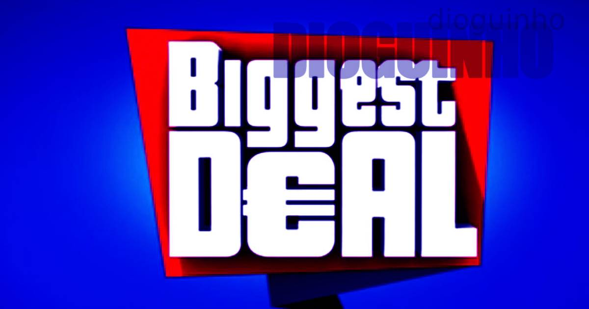 Photo of Fracasso de «Biggest Deal» é AGORA ASSUMIDO!