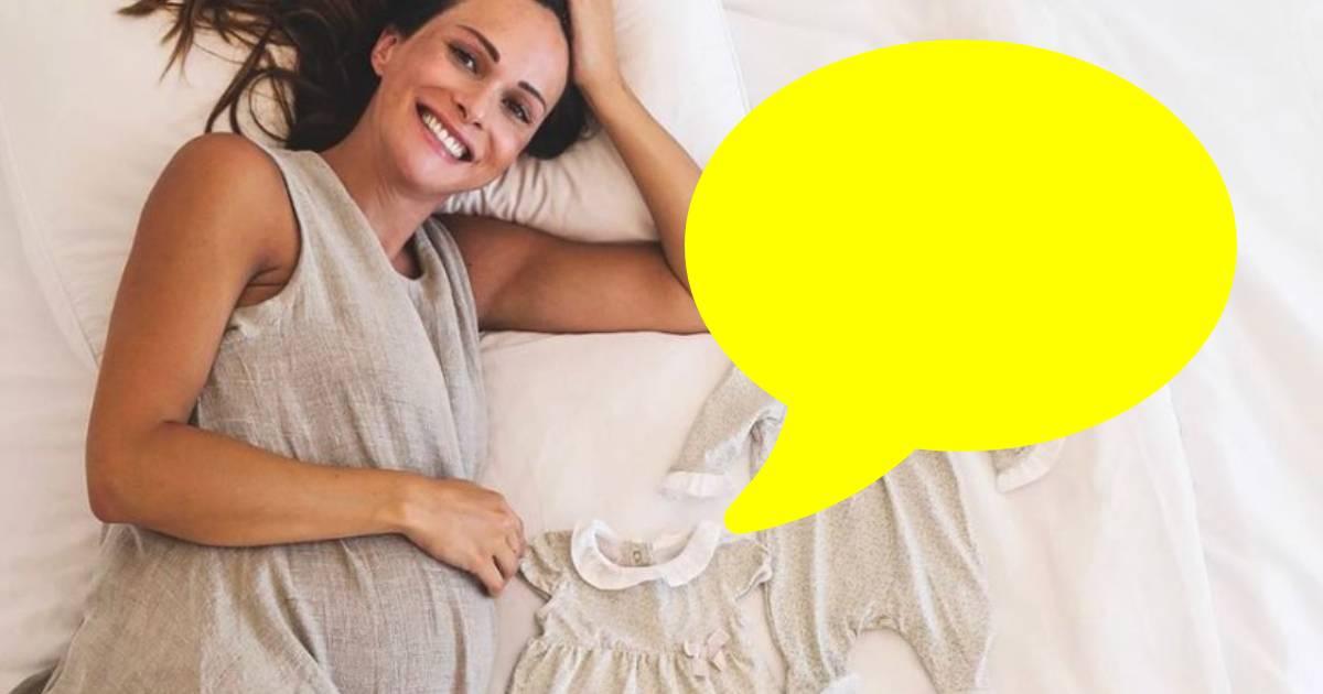 Photo of Helena Costa REVELA ROSTO de uma das gémeas