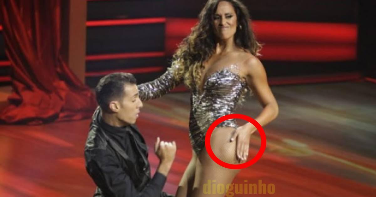 Photo of TVI. Rita Pereira leva uma dentada do filho e ficou marcado