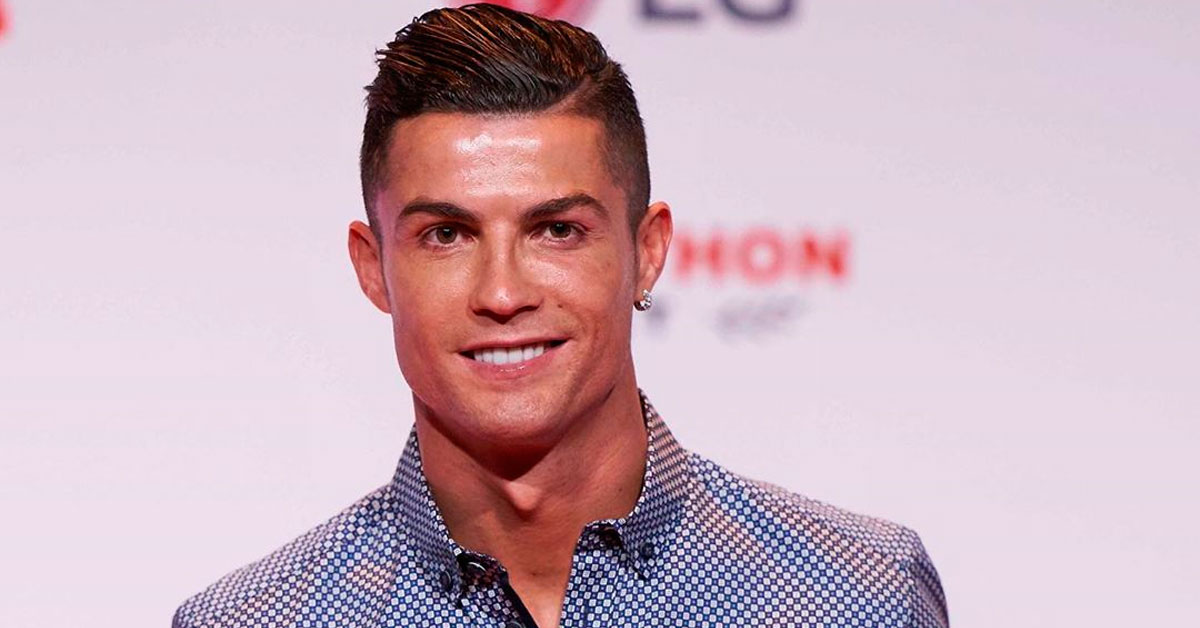 Photo of Cristiano Ronaldo usa truque para parecer mais alto nas fotos