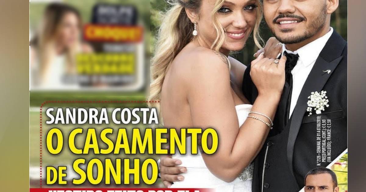 Photo of Sandra Costa e o seu casamento de sonho… custou 25 mil euros!
