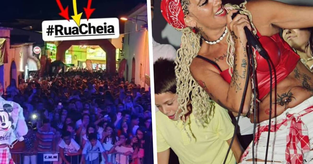 Photo of Maria Leal vai até à terra de Cristiana Dionísio e ARRASA!! CENTENAS de pessoas