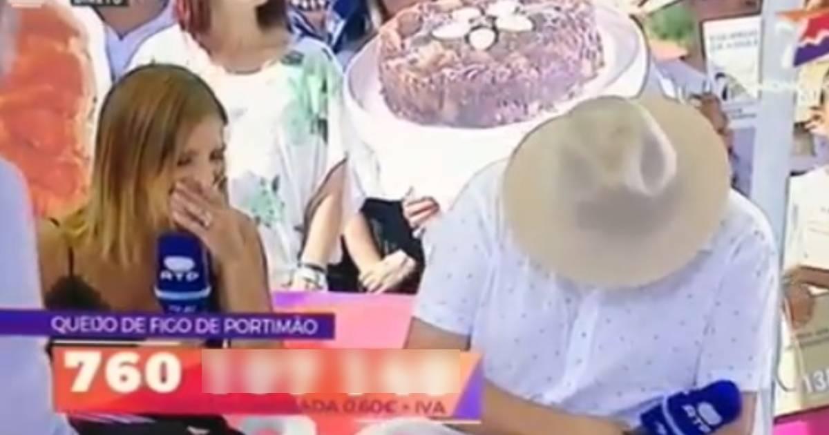 Photo of José Carlos Malato fica ENTALADO em directo