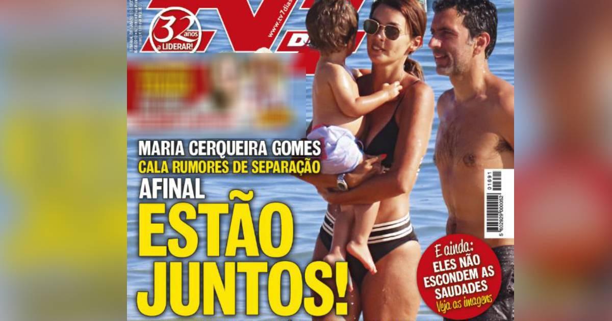 Photo of APANHADOS: Maria Cerqueira Gomes não está separada do marido