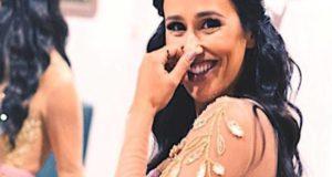 """""""Arraso"""". O visual de princesa de Rita Pereira em 'A Tua Cara Não Me é Estranha'"""