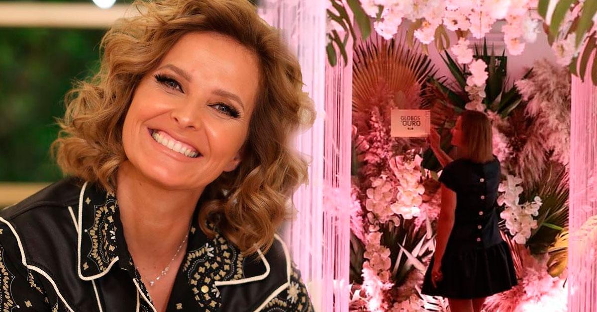 Photo of O luxuoso camarim de Cristina Ferreira nos Globos de Ouro