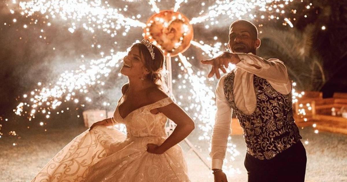 Photo of Cristiana Jesus. O que ela vai fazer com o vestido de noiva?!