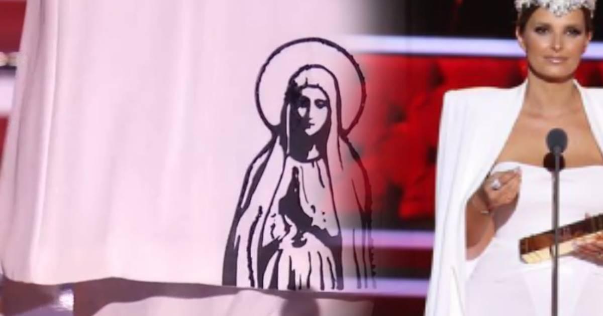 Photo of Vestido de Nossa Senhora de Cristina Ferreira nos Globos de Ouro tem significado especial