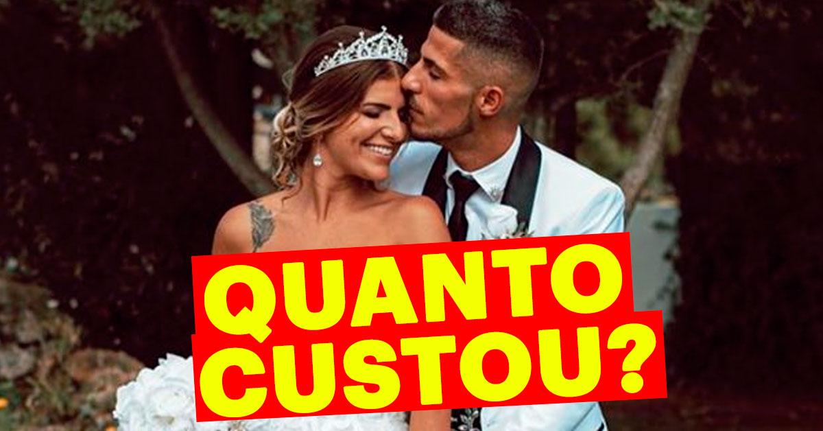 Photo of Cristiana Jesus e Cláudio Alegre: Quanto custou o casamento?