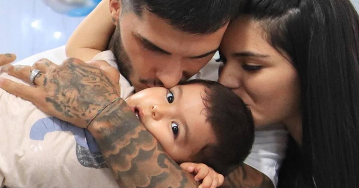 Photo of JÁ NASCEU! Nuno da Silva e Cynthia Noriega são pais do segundo filho
