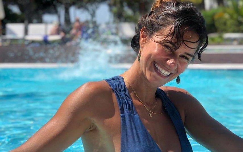 Photo of Cláudia Vieira mostra corpo de sonho aos 7 meses de gravidez