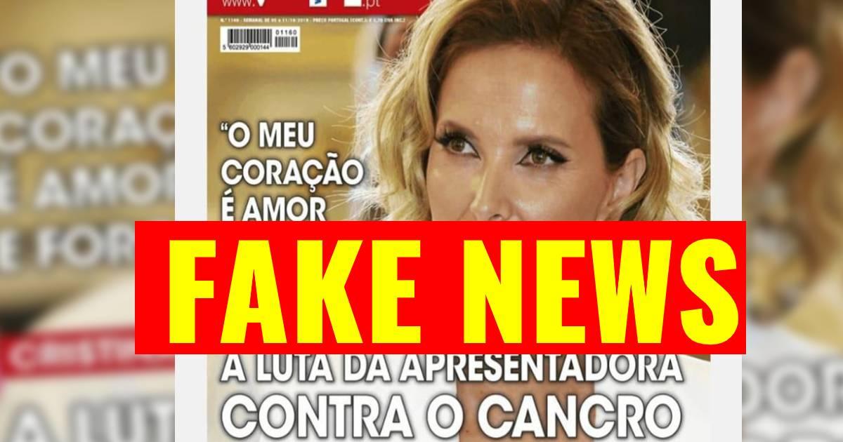 Photo of Revista VIP engana leitores com imagem de Cristina Ferreira e o cancro. Vão ser processados