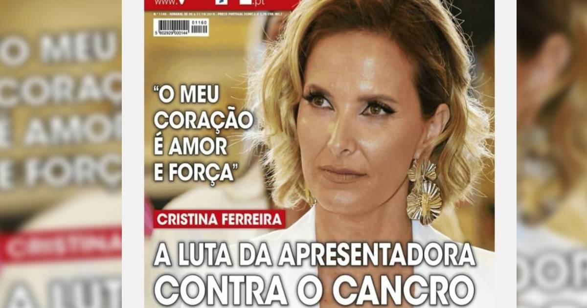 Photo of Cristina Ferreira. A luta da apresentadora contra o cancro?!