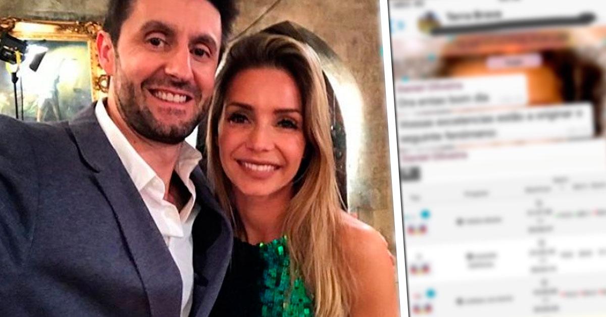 Photo of Luciana Abreu mostra mensagens privadas que recebeu de Daniel Oliveira