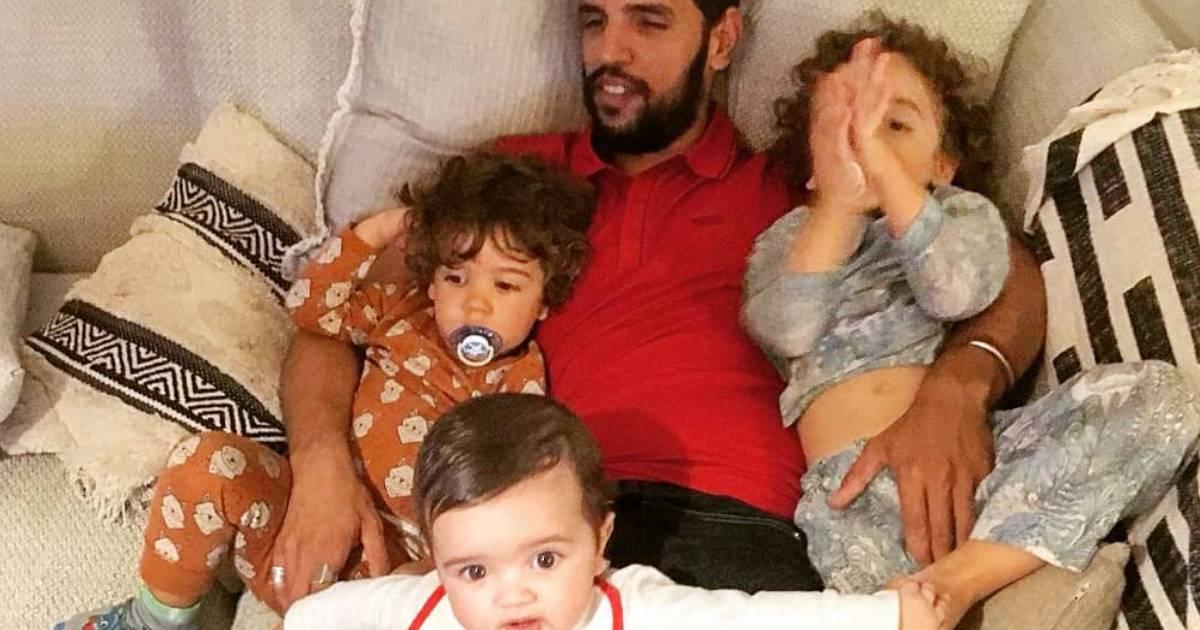 Photo of Namorado de Carolina Deslandes reage à doença do filho