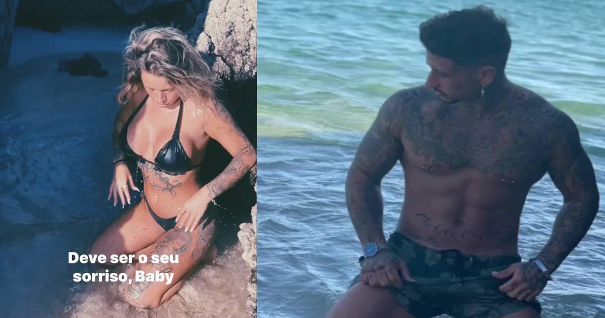 """Photo of Liliana Rodrigues assume novo namorado: """"Aceitou-me estando eu grávida"""""""