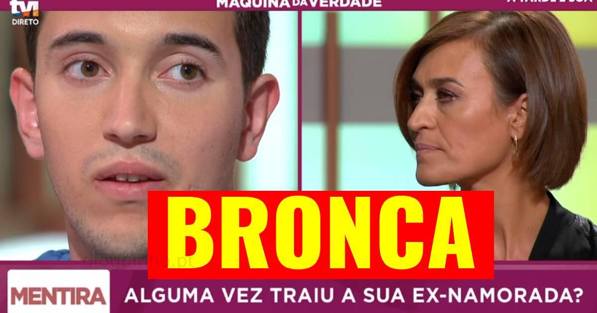 Photo of TVI. Vai à Maquina da Verdade e é ENTALADO em directo