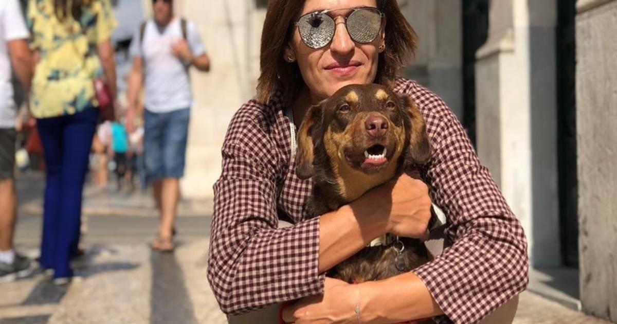 """Photo of Fátima Lopes em vídeo caricato como cão. """"DESESPERO"""""""