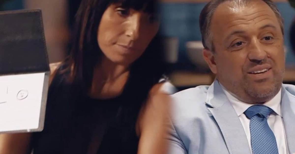 Photo of Ana Raquel em confronto com um dos especialistas do Casados à Primeira Vista