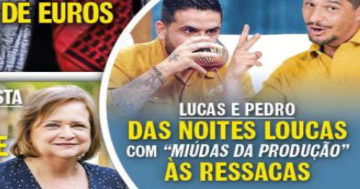 """Photo of Lucas e Pedro Pé-Curto abusam do álcool em festas com """"meninas da produção"""". Ressacas e atrasos"""