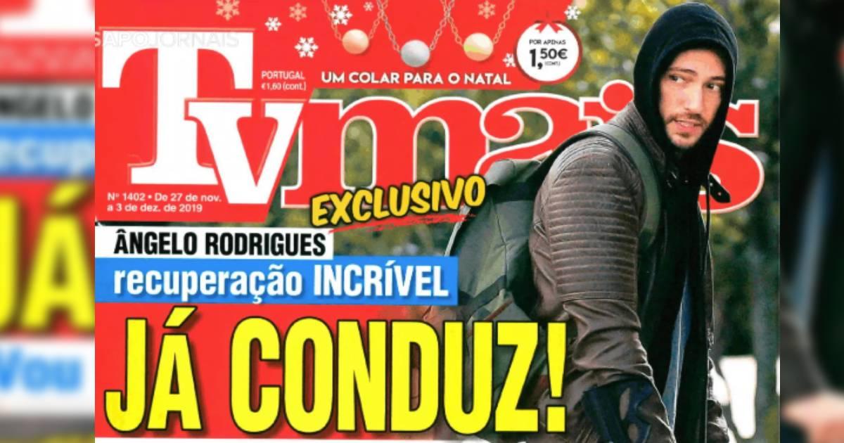 Photo of Ângelo Rodrigues a ter recuperação bombástica. Já CONDUZ