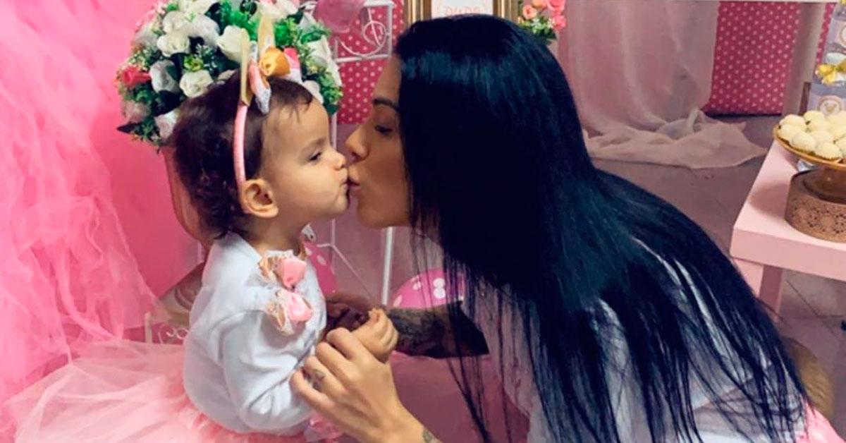 Photo of Andreia Machado: a festa de aniversário de sonho da filha