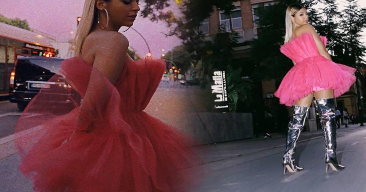 Photo of Bárbara Bandeira arrasa nos MTV EMA… com vestido igual ao de Kendall Jenner