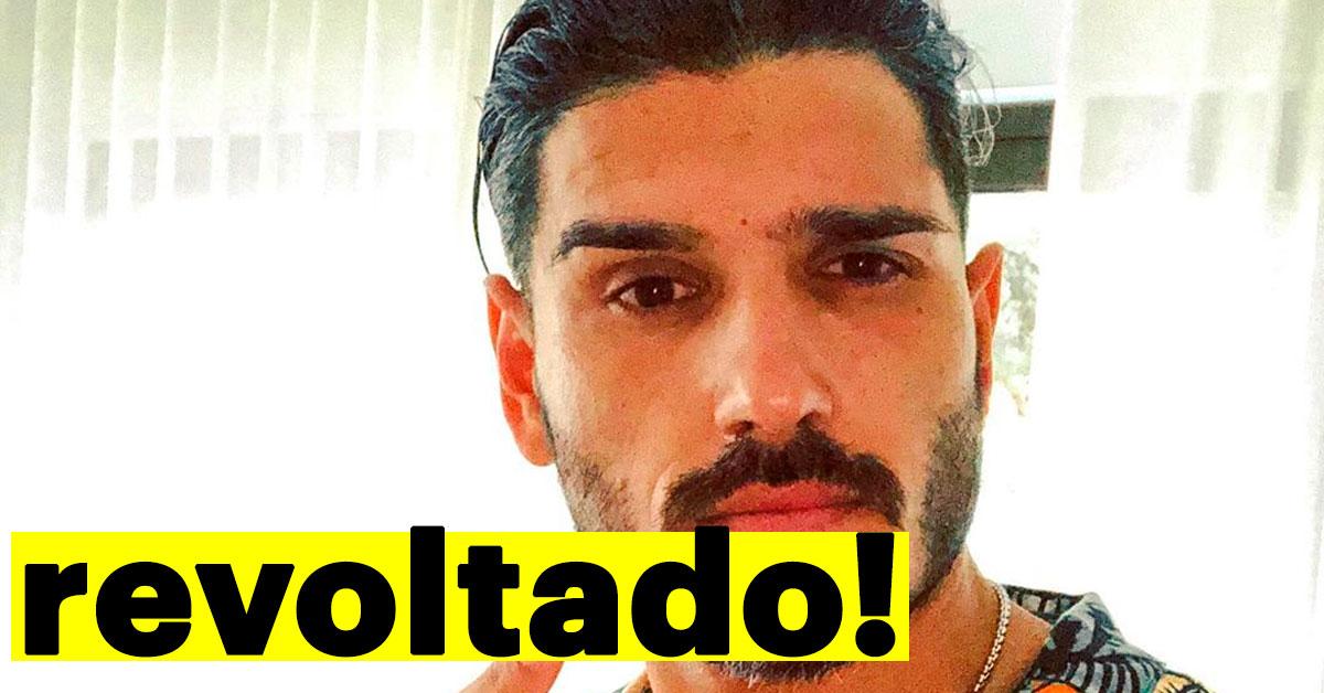 "Photo of Filipe Vilarinho REVOLTADO desabafa ""Estou-me pouco CAGANDO"""