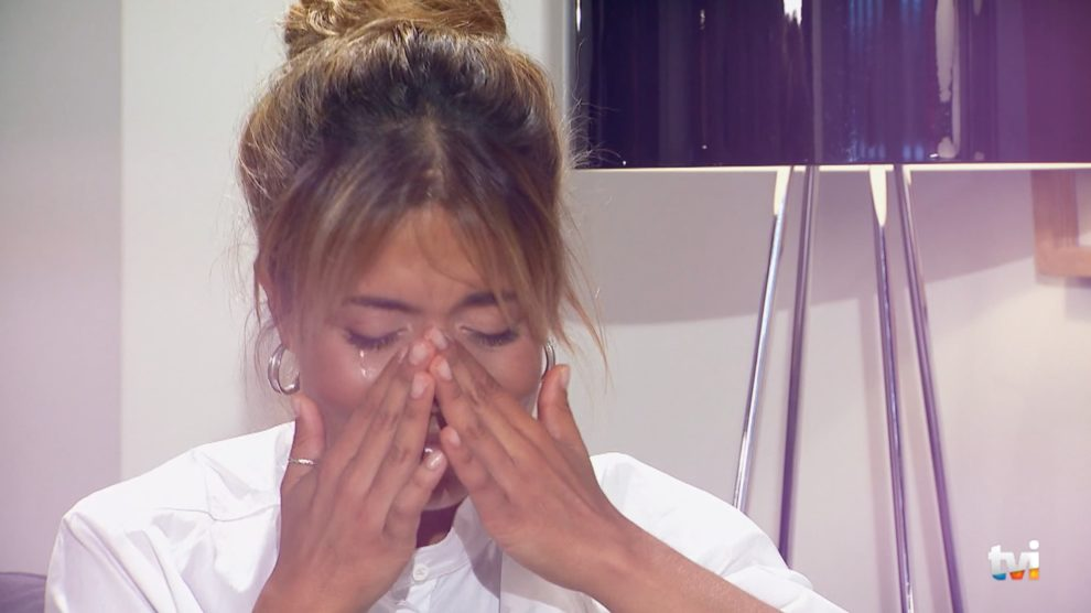 Photo of Isabel Silva não aguenta e chora no programa de Fátima Lopes