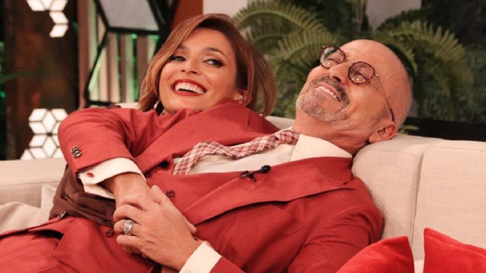 Photo of TVI. Maria Cerqueira Gomes dá prenda especial a Goucha em directo