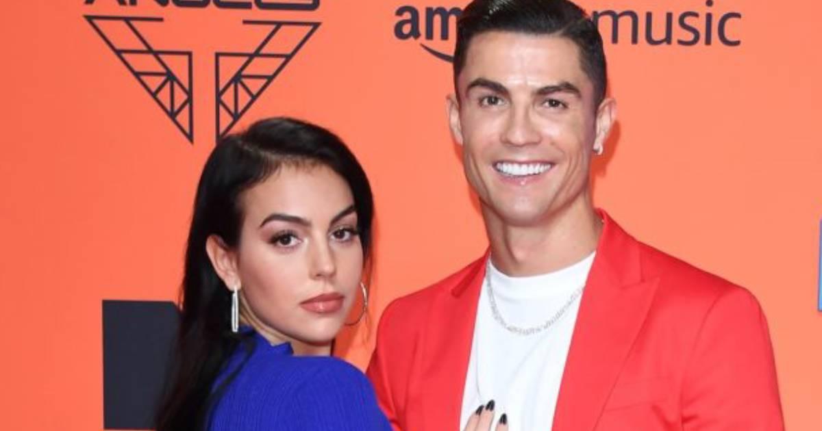 Photo of Cristiano Ronaldo e Georgina Rodriguez na passadeira vermelha dos MTV EMAs 2019