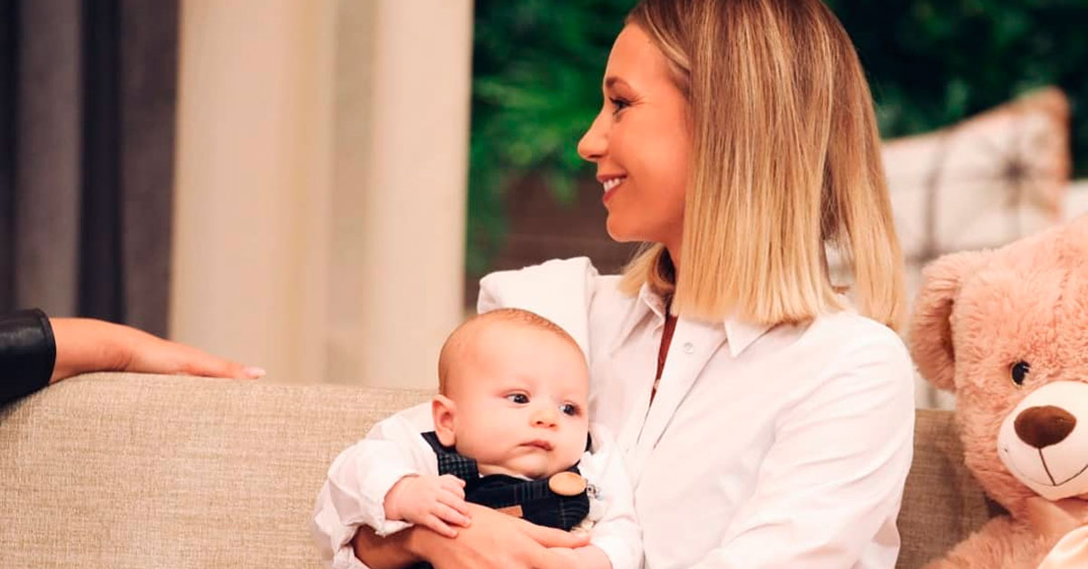 Photo of Sofia Arruda partilha foto amorosa do filho em dia especial
