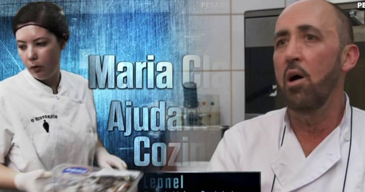 Photo of Pesadelo na Cozinh. Leonel ENGANOU Ljubomir e Maria Clara DESPEDIU-SE